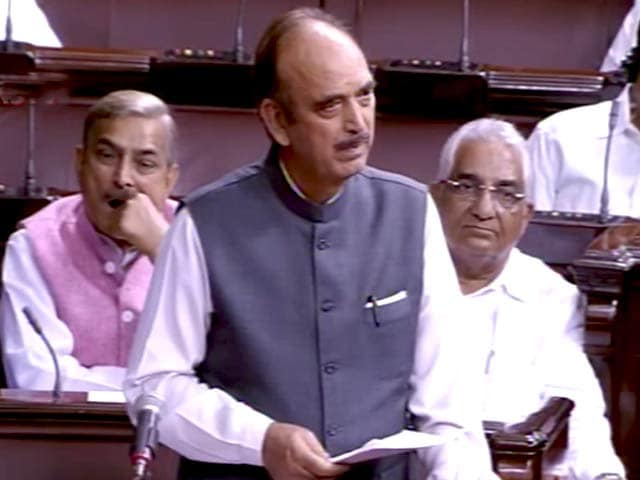 Video : Kashmir Discussion: 'Civilians Being Treated Like Militants,' Says Congress' Azad