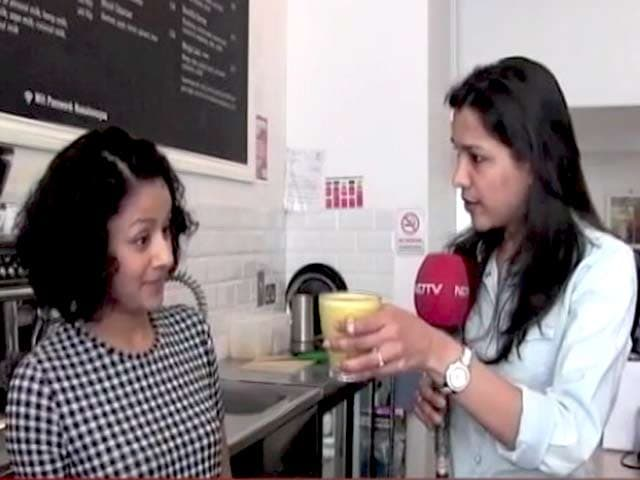 Video : The Makeover of <i>Haldi Doodh</i> to Turmeric Latte In The West