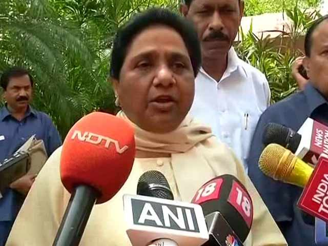Video : On Gujarat Dalit Attacks, Congress Finds Itself Being Slammed By Mayawati