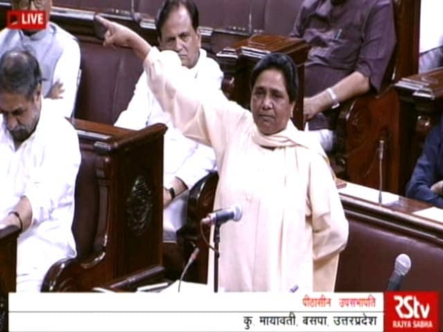 Video : Punish Him, Or There Will Be Protests Everywhere, Warns Mayawati
