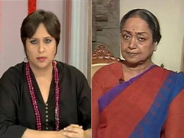 Video : Give Up Your Surnames If You Really Believe In Caste Equality: Meira Kumar