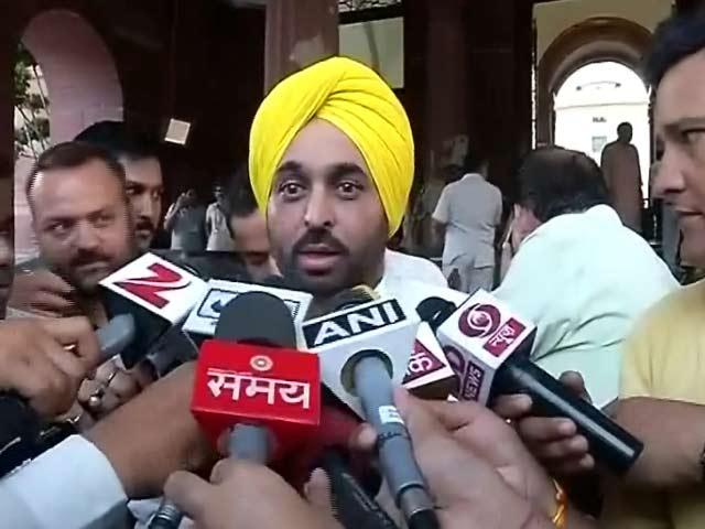 Video : AAP सांसद भगवंत मान के वीडियो पर विवाद, संसद भवन की सुरक्षा को लेकर सवाल