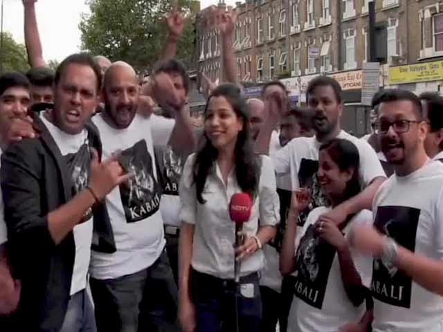 Video : A Gilmpse of Rajinikanth's <i>Kabali</i> Craze in London