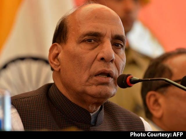 Video : Urge Security Forces To Not Use Pellet Guns, Says Rajnath Singh