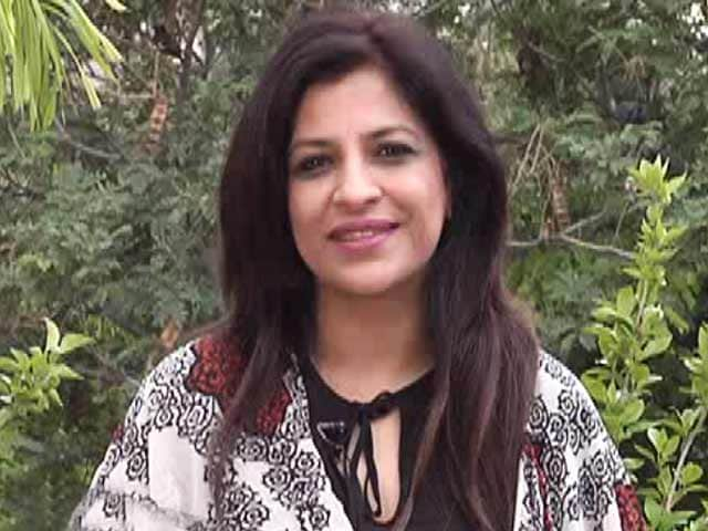 Video : BJP's Shazia Ilmi Pledges To Donate Her Organs