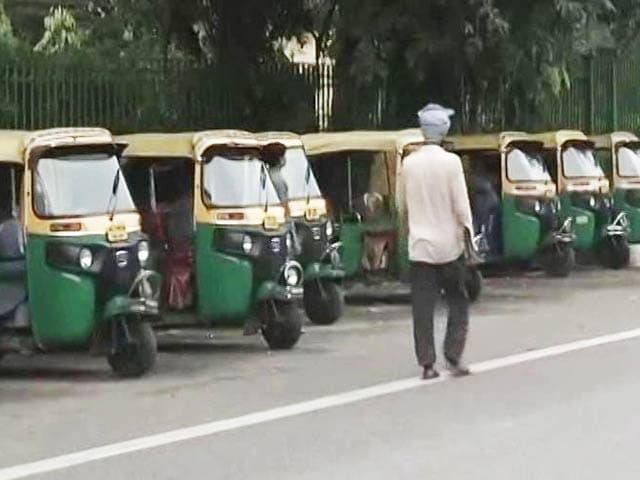 Video : Delhi's Auto, Taxi Unions On Strike Today Against App-Based Cab Services