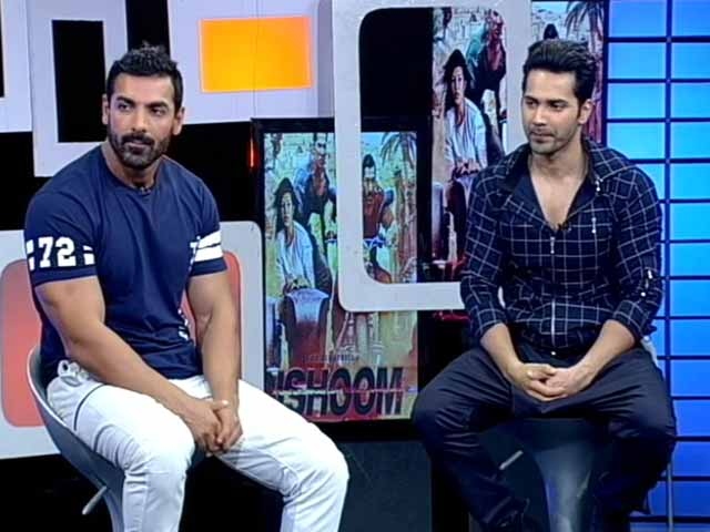 Video : John and Varun Pick an Actress Who Can <i>Dishoom</i>. It's Not Jacqueline