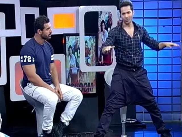 Video : Catch Varun And John Talk About Action Scenes From <i>Dishoom</i>