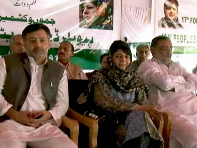 Video : Forces Didn't Know Burhan Wani Was In Their Net, Says Mehbooba Mufti