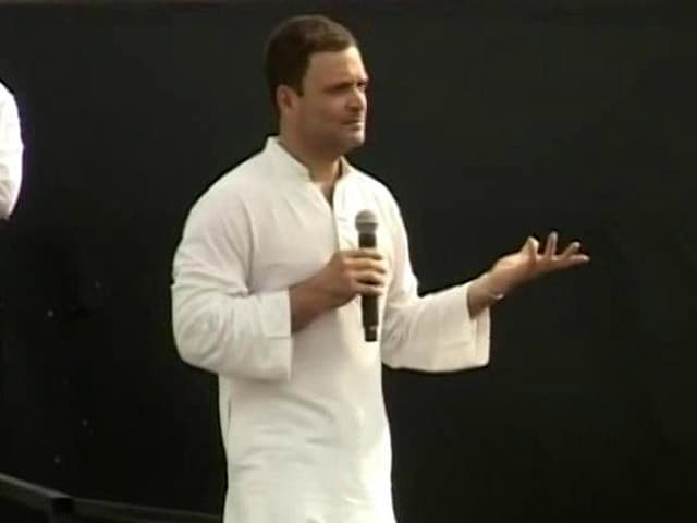 Video : 'Theek Ladka Hai,' Says Rahul Gandhi On Akhilesh Yadav, UP Chief Minister