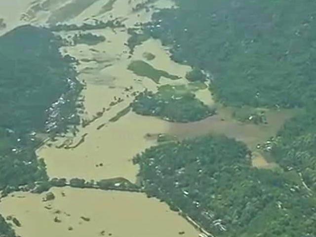 Video : Floods Kill 13 In Assam, Home Minister Rajnath Singh Takes Stock