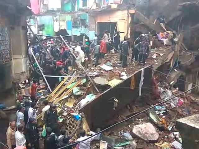Video : 8 Dead After 3-Storey Building Collapses In Bhiwandi Near Mumbai