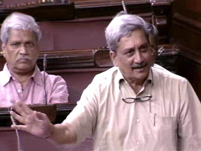 Video : Defence Minister Parrikar Attacked In Parliament Over Aamir Khan Remark