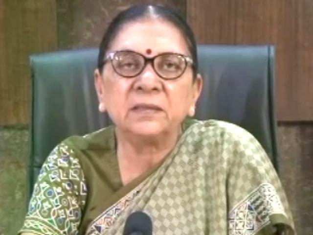 Videos : गुजरात की मुख्यमंत्री आनंदीबेन पटेल ने दिया इस्तीफा, कहा- नए CM को मौका मिले