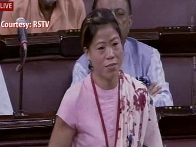 Video : Athletes' Diet Not Adequate for Olympic Preparation: MC Mary Kom