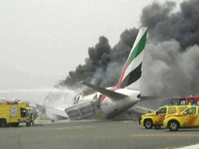 Video : Emirates Plane From Thiruvananthapuram Crash-Lands In Dubai, Passengers Safe