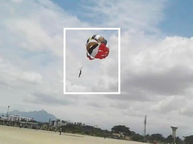 Videos : कोयम्बटूर: पैरासेलिंग करते शख्स की ऊंचाई से गिरने से मौत