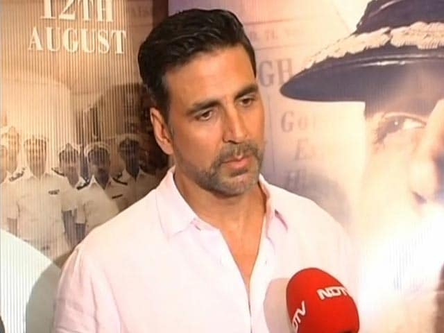 Video : What Akshay Said About <i>Mohenjo Daro</i> vs <i>Rustom</i>