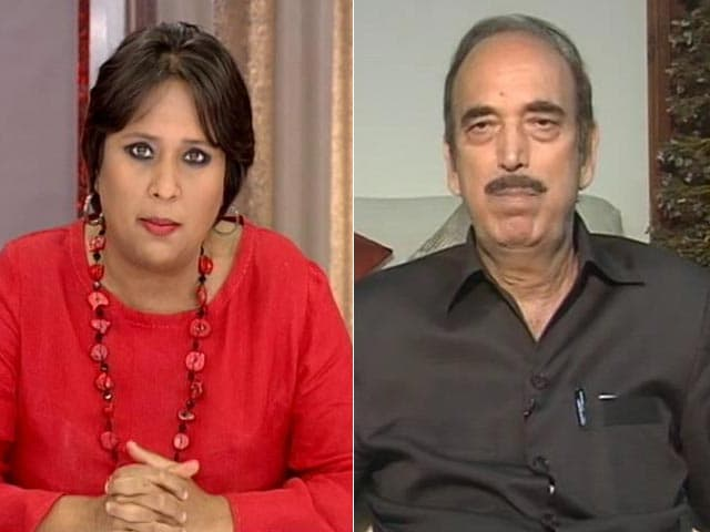 Video : Kashmir Needs First Aid But Doctor Watching <i>Tamasha</i>, PM  Must Speak: Ghulam Nabi Azad