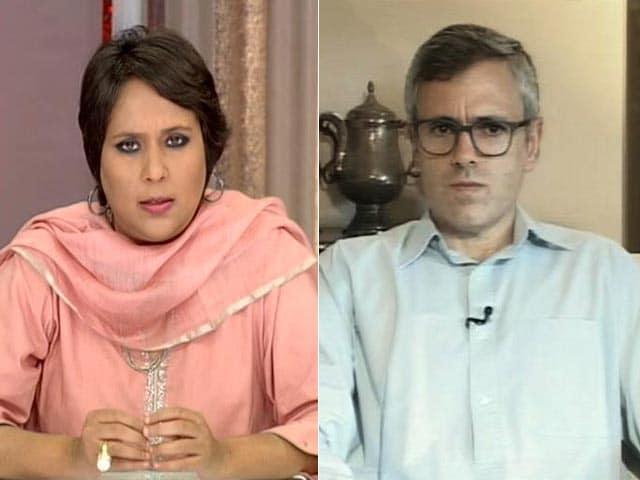 Video : 'Burhan Wani More Dangerous Dead Than Alive': Omar On PM's Kashmir Outreach