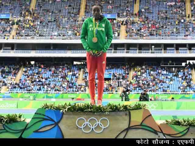 Videos : इथियोपिया की अलमाज़ अयाना..रियो ओलिंपिक की फर्राटा क्वीन..