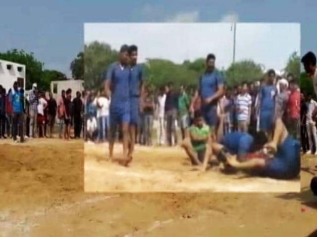 Video : About To Win Kabaddi Match, Dalit Team Thrashed In Gurgaon