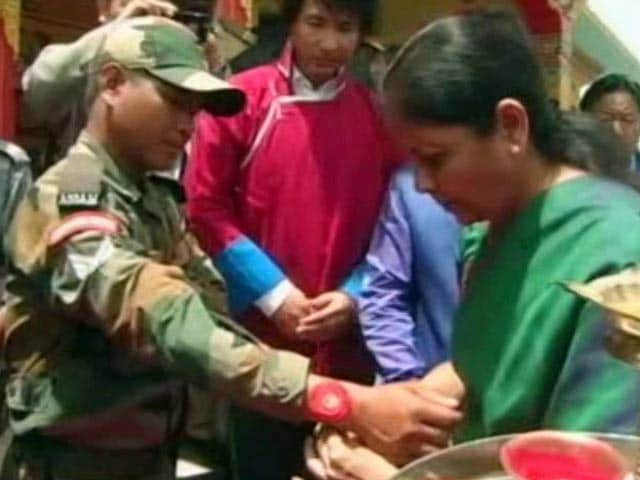 Video : On Her Birthday, Nirmala Sitharaman Gets A Band Of Brothers