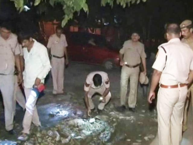 Video : Delhi Police Constable Shot Dead While Chasing Thieves