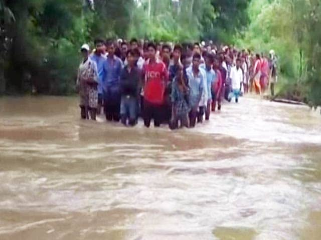Video : Flood Crisis Worsens In Madhya Pradesh