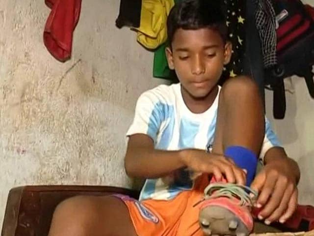 Video : Football Prodigy, Aged 11, From Odisha Slum, Heads For Bayern Academy