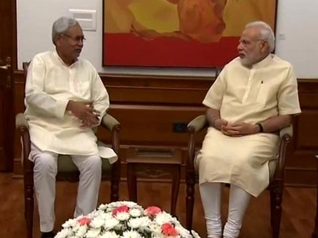 Video : In Meeting With PM On Bihar Floods, Nitish Kumar Says 'Send Experts'