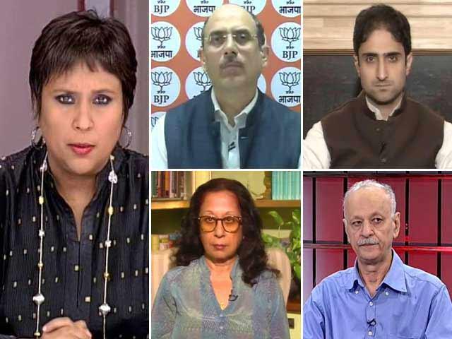 Video : Rajnath Singh Tweets Open Invite For Talks, Will Separatists Meet Him Half Way?