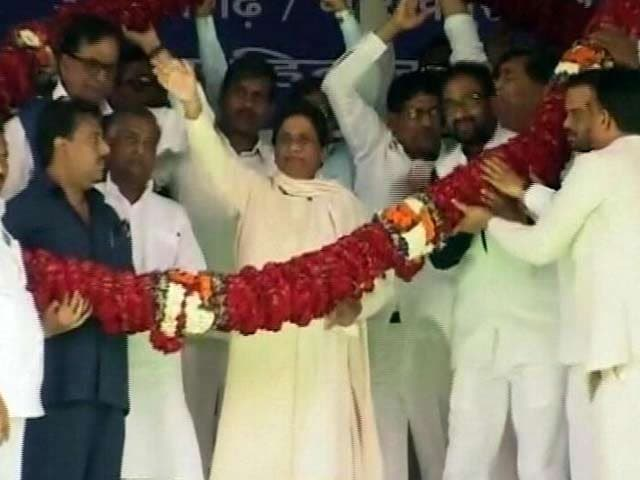 Video : In Azamgarh, Mayawati Brings Uttar Pradesh Battle To Mulayam's Turf