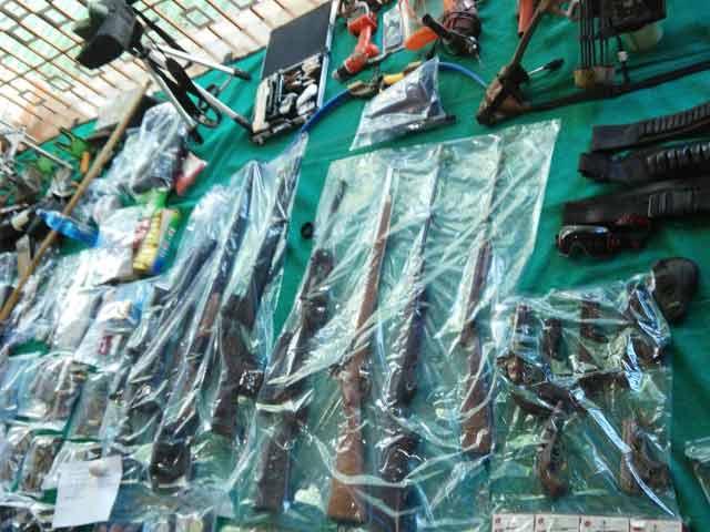 Video : Arrows, Guns, Swords. Doctor Hid Huge Stash Of Weapons At Raipur Home