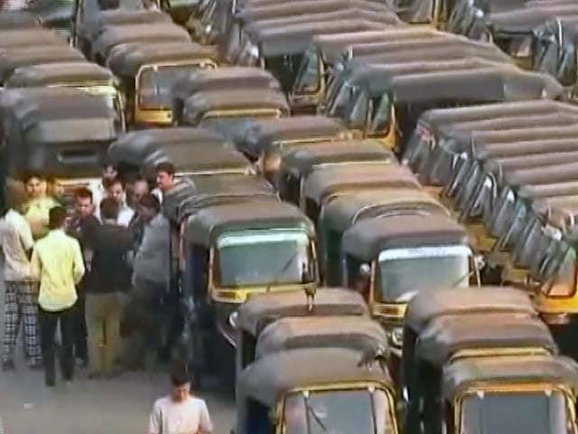 Video : मुंबई में आज ऑटो-रिक्शा की हड़ताल...