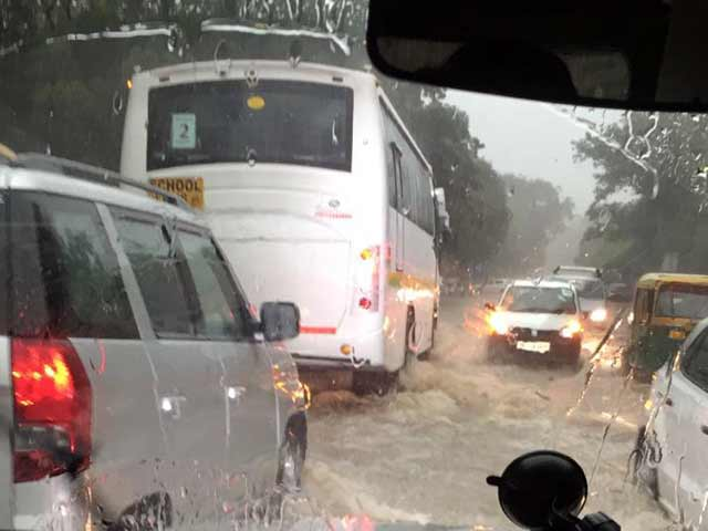 Video : Heavy Rain In Delhi Hits John Kerry's Plans, Gurgaon Advises 'Patience, Discipline'