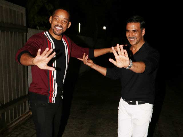 Akshay and Will Smith in a Commercial?