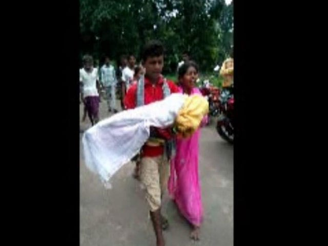 Video : In Odisha, Another Man Forced To Walk 6 km With Daughter's Body