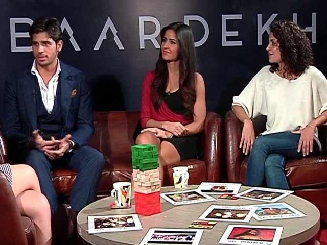 Video : Katrina Kaif and Sidharth Malhotra's 'Comfort' Level Explained Here