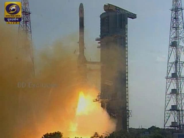 Video : Indian Space Agency's GSLV Rocket Successfully Launches After 40 Minute Delay