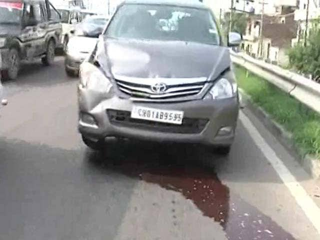 Video : Arvind Kejriwal's Car Hits Police Vehicle In Minor Accident In Punjab
