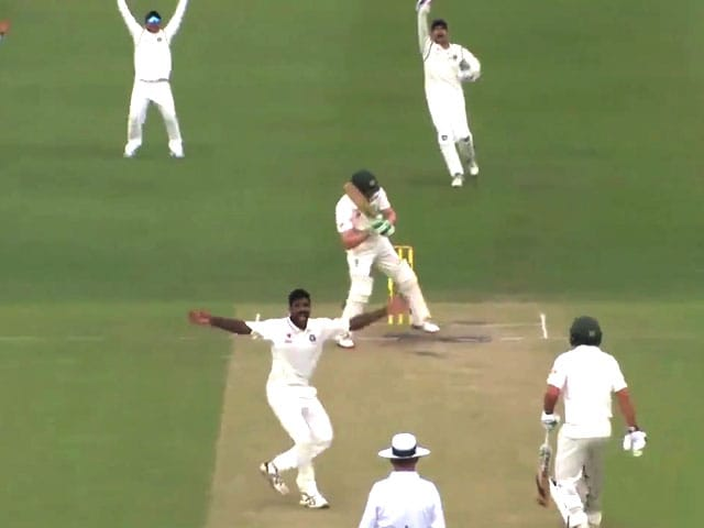 Video : Bowlers Help India A Take Slender Lead Against Australia A