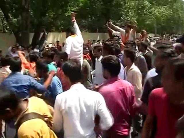 Video : ABVP Wins Top 3 Posts In Delhi University Polls, NSUI Makes Comeback