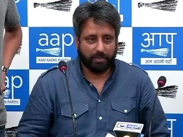 Video : AAP Refuses To Accept Amanatullah Khan's Resignation