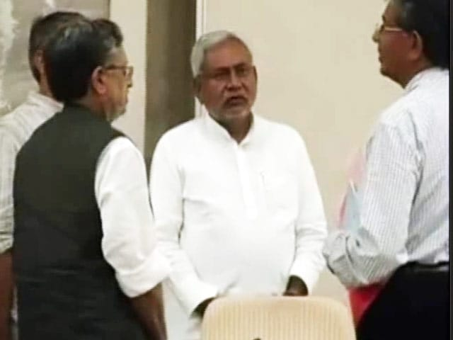 Video : As Grumbles Grow Louder Within Ally RJD, Nitish Kumar's Terse Response