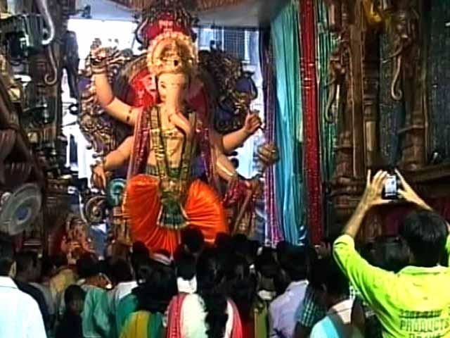 Video : गणेश विसर्जन के मौके पर मुंबई में सुरक्षा के कड़े इंतजाम