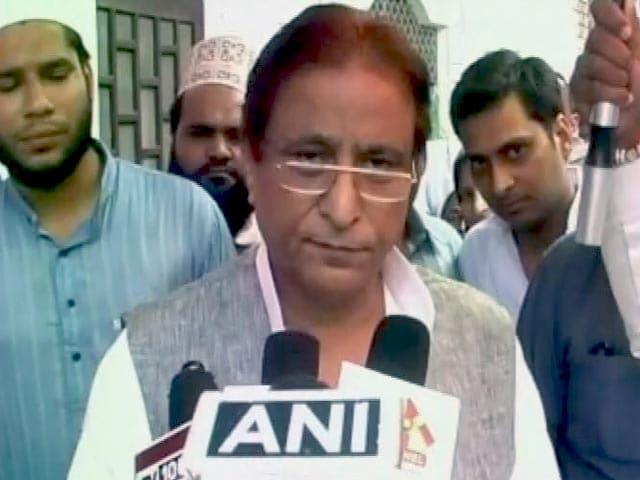 Video : CM ने किसी नाम लिया फिर अमर सिंह क्यों परेशान : आज़म खान