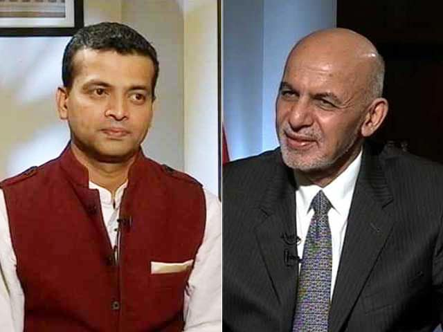 Video : Isolate Those Who Wink, Blink At Terror, Afghan President Ashraf Ghani Tells NDTV
