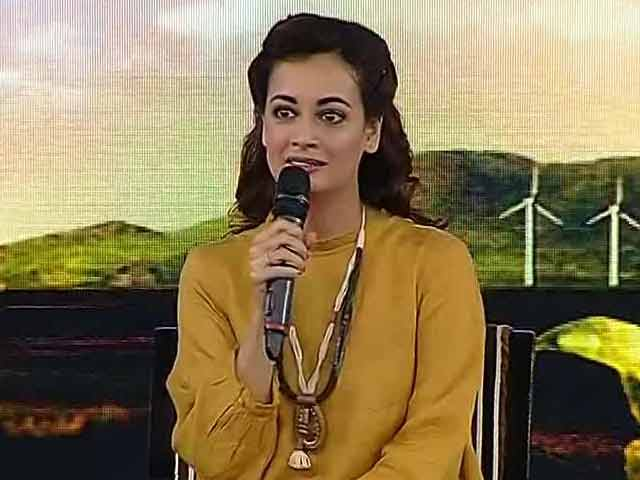 Videos : #NDTVYouthForChange: दीया मिर्जा बोलीं- मुझे सबसे ज्यादा डर प्लास्टिक और कचरे से लगता है