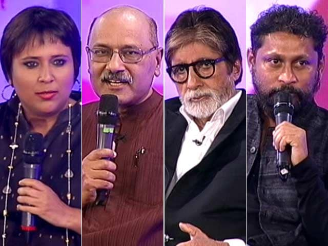 21aafa157e Video   In Conversation With Amitabh Bachchan And Shoojit Sircar